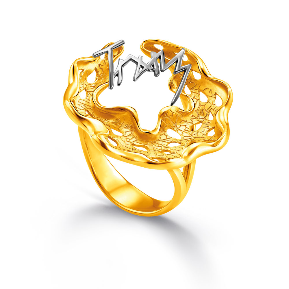 Beautiful Wedding Ring Cincin And Berlian Poh Kong Tunangan Kawin Pernikahan Emas Princess 3 Tranz Classic 20r11419
