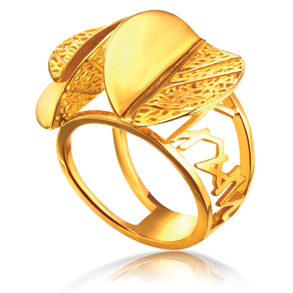 Beautiful Wedding Ring Cincin And Berlian Poh Kong Tiaria Eternity Tunangan Emas Tranz Nature 20r1040a