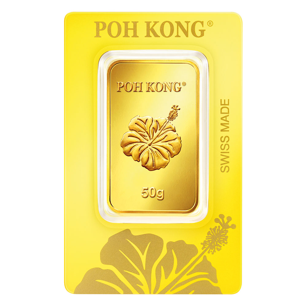 Gold Bar 50g Pkj Prd 10456
