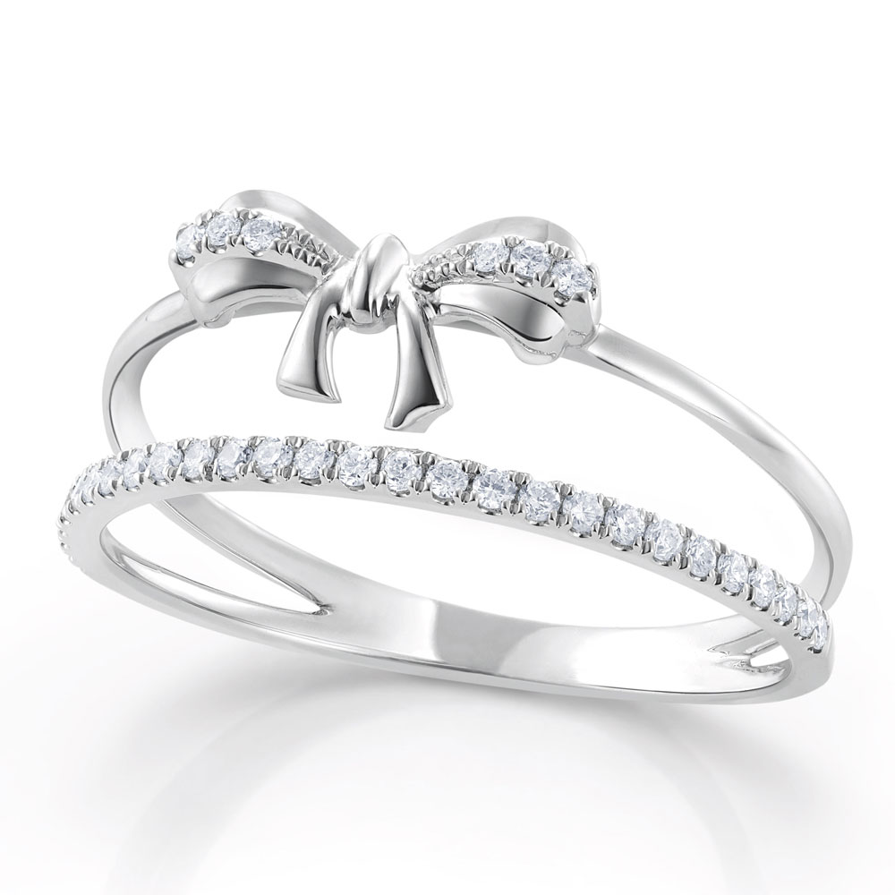 Beautiful Wedding Ring Cincin And Berlian Poh Kong Tunangan Kawin Pernikahan Emas Princess 3 Diamond Allure