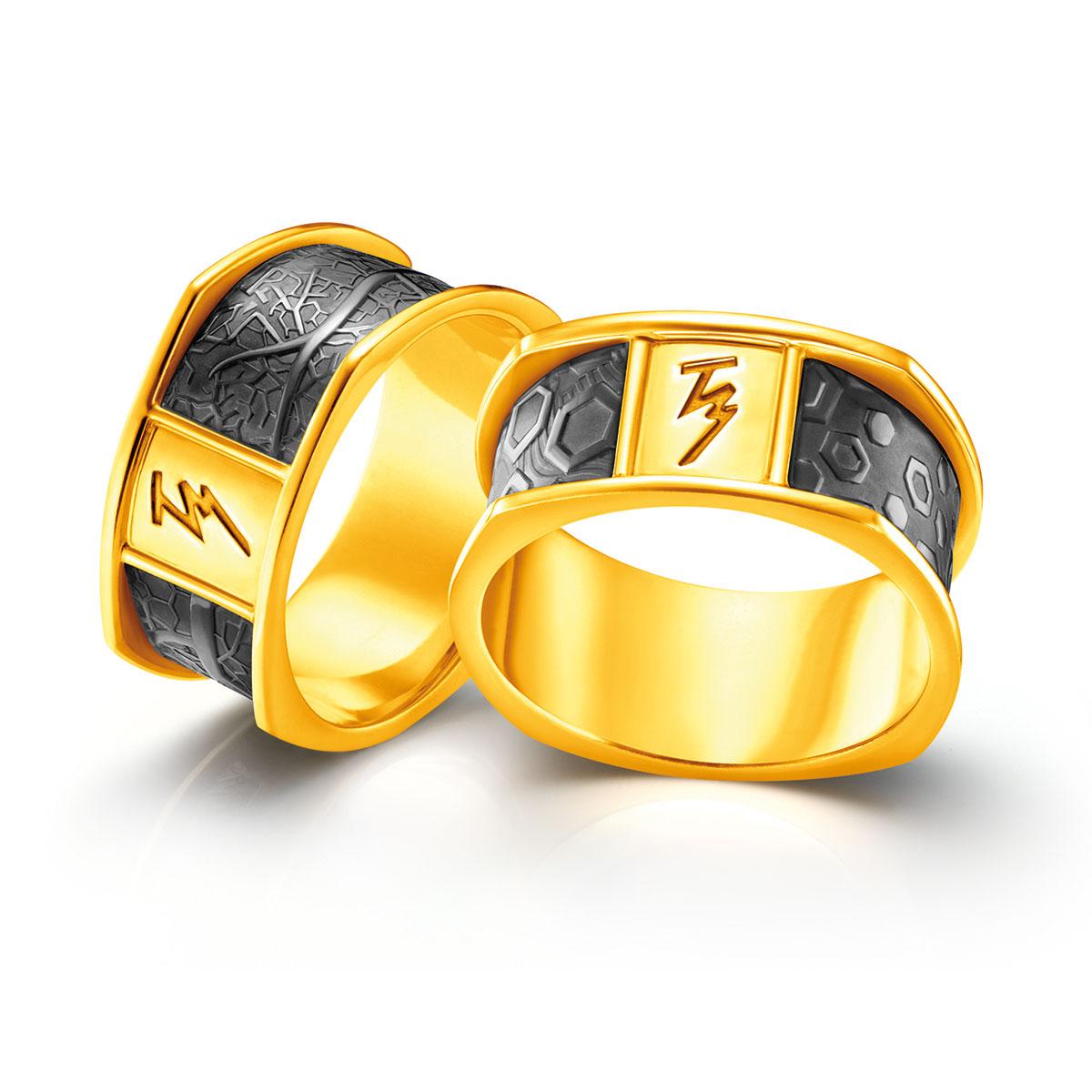 Beautiful Wedding Ring Cincin And Berlian Poh Kong Tiaria Eternity Tunangan Emas Tranz Duet 20r11758000
