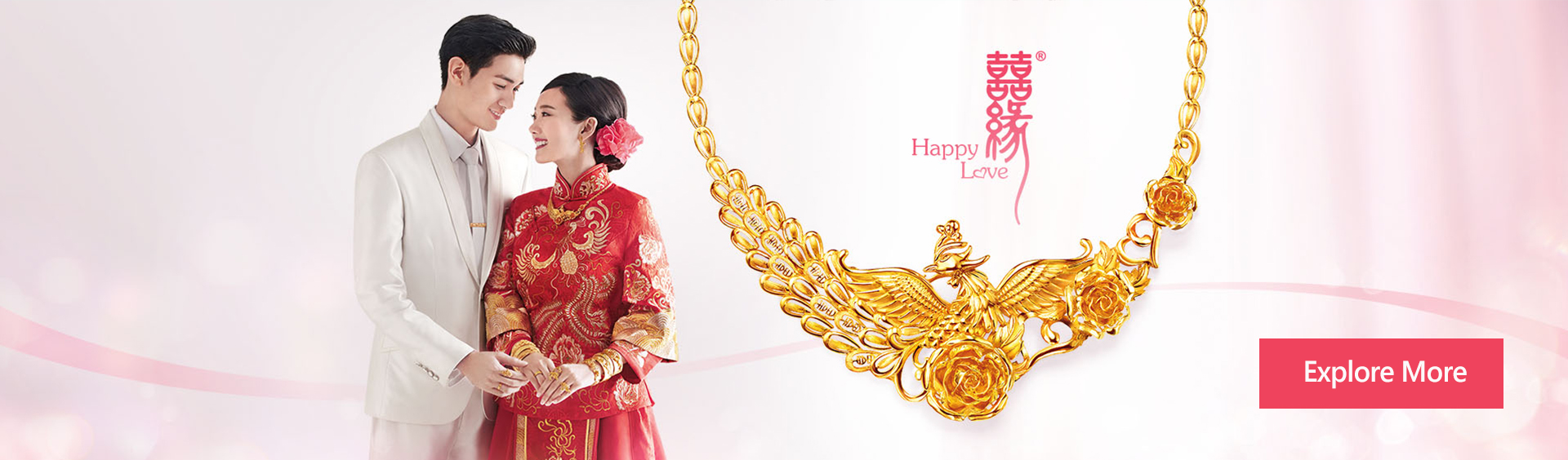 Happy Love New Collection banner